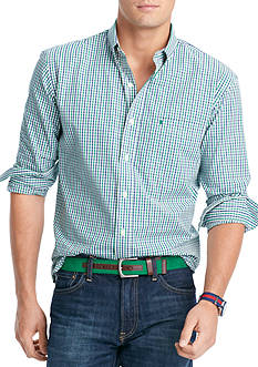 IZOD Big & Tall Essential Tattersall Shirt