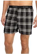 Hanes® Ultimate Plaid Boxers - 5 Pack