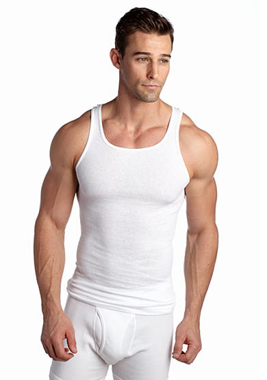 Hanes® 5-Pack Platinum Tagless™ Tank Tops