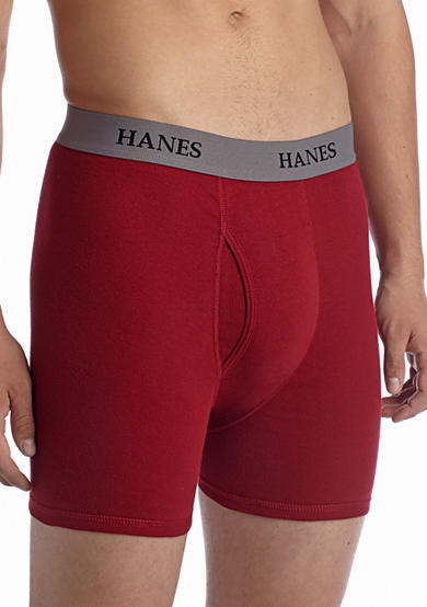 Hanes® 4-Pack Platinum Tagless® Boxer Briefs