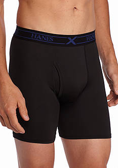 Hanes Platinum X-Temp Performance Boxer Brief 3-Pack
