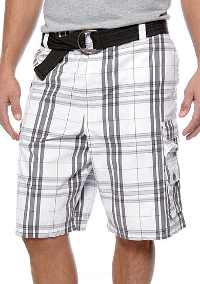 Lee® Big & Tall Maverick Plaid Shorts