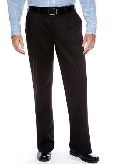Lee® Big & Tall Relaxed Custom Comfort Fit Pleated Wrinkle Resistant Pants