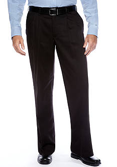 Lee Big & Tall Relaxed Custom Comfort Fit Pleated Wrinkle Resistant Pants