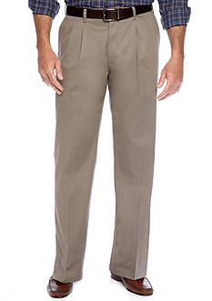 Lee® Big & Tall Custom Comfort Fit Pleated Wrinkle Resistant Pants