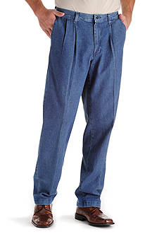 Lee® Big & Tall Stain Resistant Relaxed Comfort Fit Pleated Pants