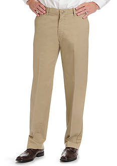Lee® Big & Tall Freedom Flat Front Pants