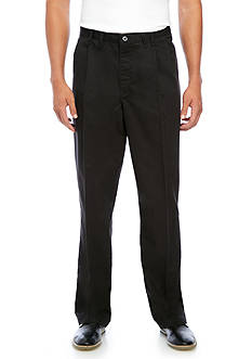 Lee® Big & Tall Classic Fit Pleated Front Pants