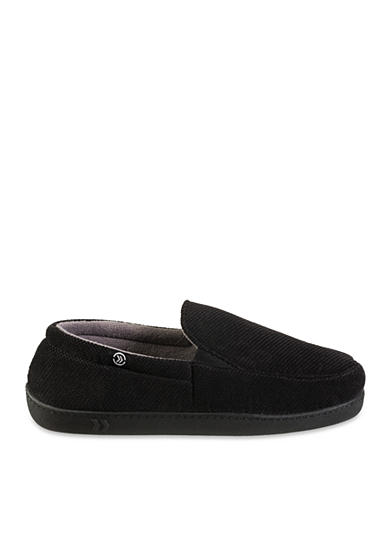 Totes Isotoner Slippers Diamond Corduroy Slip On Slippers