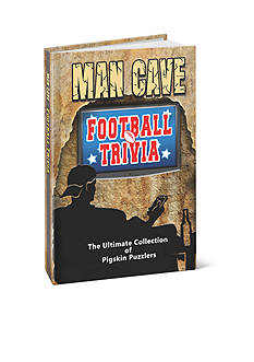 Red-Letter Press, Inc. Man Cave Football Trivia Book