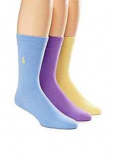 Polo Ralph Lauren Super Soft Socks - 3 Pack
