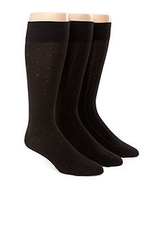 Polo Ralph Lauren 3-Pack Assorted Dress Socks