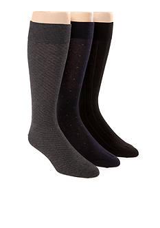 Polo Ralph Lauren 3-Pack Assorted Dress Socks