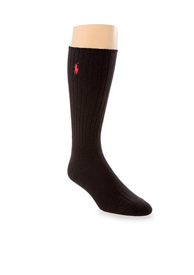 Polo Ralph Lauren Big & Tall Classic Cotton Crew Socks - Single Pair