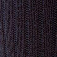 Black Designer Socks for Men: Navy Polo Ralph Lauren Classic Cotton Crew Socks - Single Pair