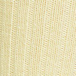 Black Designer Socks for Men: Soft Yellow Polo Ralph Lauren Classic Cotton Crew Socks - Single Pair