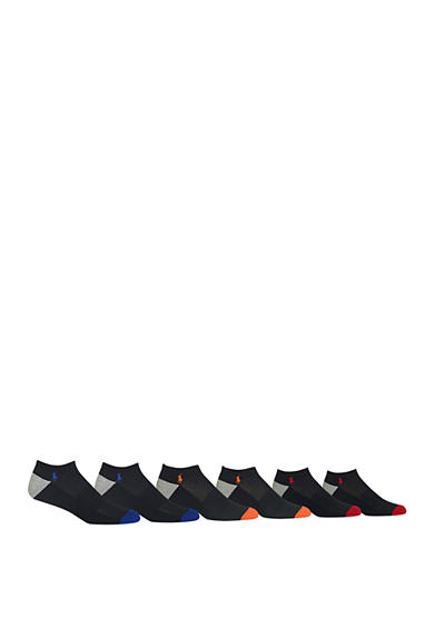 Polo Ralph Lauren 6-Pack Technical Sport Ankle Socks