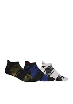 Polo Ralph Lauren Camo Tip Ankle Socks - 3 Pack
