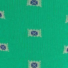Casual Socks for Guys: Kelly Polo Ralph Lauren Birdseye Square Foulard Crew Socks - Single Pair