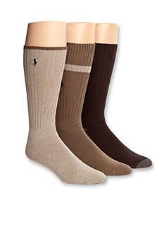 Polo Ralph Lauren 3-Pack Soft Touch Assorted Socks