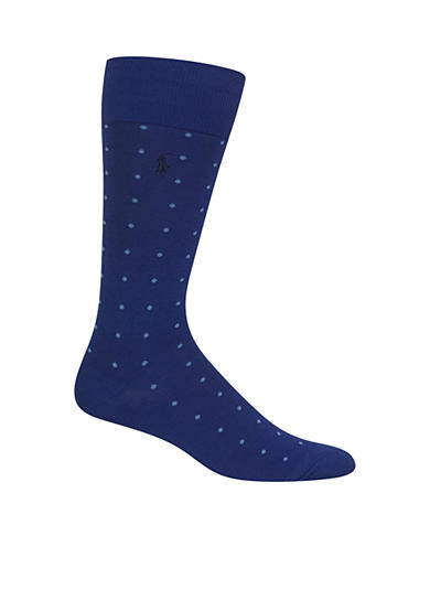 Polo Ralph Lauren Polo Player Dots Trouser Socks - 2 Pack
