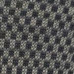 Black Designer Socks for Men: Charcoal Heather Polo Ralph Lauren Nailhead Slack Socks - Single Pair