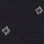 Casual Socks for Guys: Black Polo Ralph Lauren Striped Diamond Socks - Single Pair