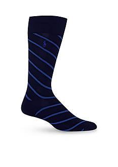 Polo Ralph Lauren Stripe Trouser Socks-Single Pair