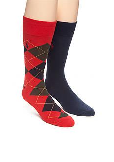 Polo Ralph Lauren Argyle Trouser Socks - 2 Pack