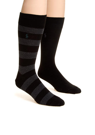 Polo Ralph Lauren Rugby Crew Socks - 2 Pack