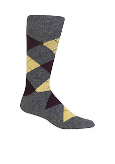 Polo Ralph Lauren Argyle Crew Socks - Single Pair