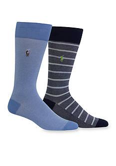Polo Ralph Lauren Oxford Socks 2-Pack