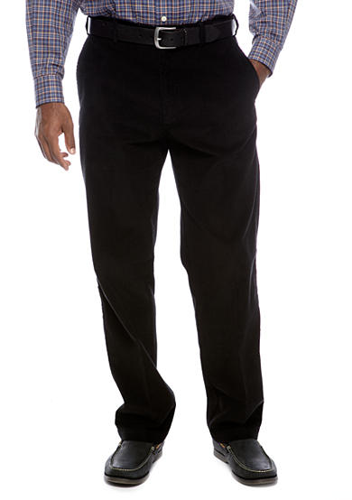 Haggar® Classic-Fit Work To Weekend™ Flat Front Corduroy Pants