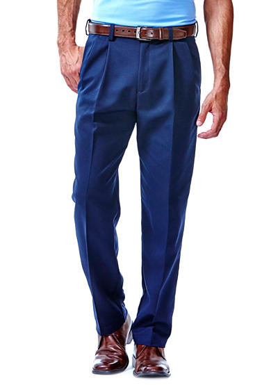 Haggar® Cool 18® Classic-Fit Pleated Non-Iron Pants