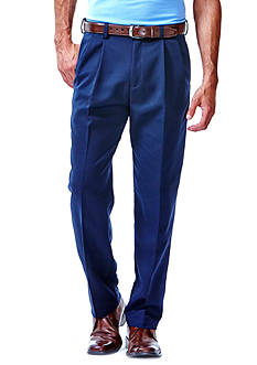 Haggar Cool 18® Classic-Fit Pleated Non-Iron Pants
