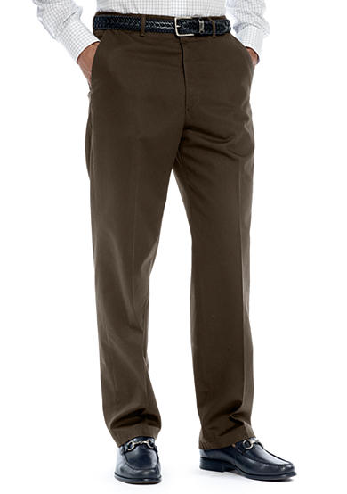 Haggar® Work-to-Weekend Flat Front Pant
