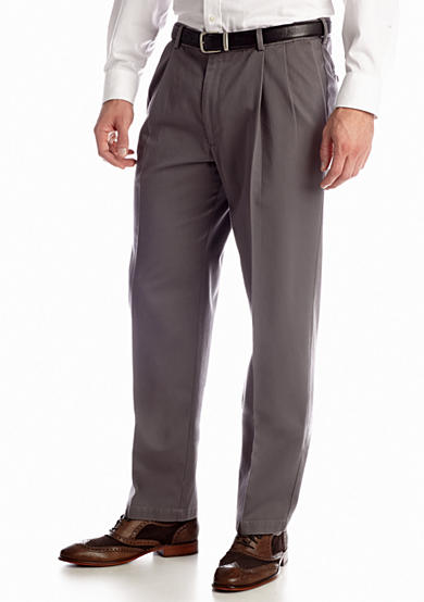 Haggar® Classic-Fit Work To Weekend™ Pleated Non-Iron Pant