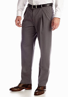 Haggar Classic-Fit Work To Weekend™ Pleated Non-Iron Pant