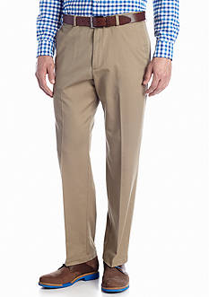 Haggar Classic Fit Work To Weekend™ Flat Front Wrinkle-Free Pants