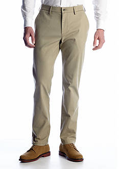 Haggar® Performance Straight-Fit Flat-Front Wrinkle-Free Pants