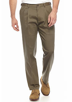 Haggar® Big & Tall Premium Non-Iron Classic-Fit Pleated Pants