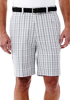Haggar® Cool 18® Plaid Performance Shorts