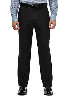 Haggar Travel Performance Classic Fit Tic Weave Suit Pants