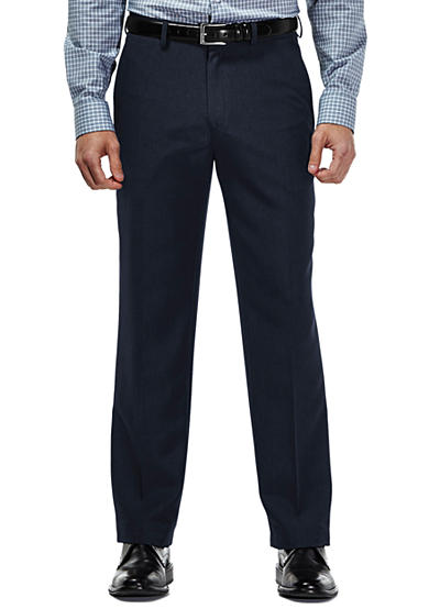 Haggar® Travel Performance Classic Fit Tic Weave Suit Pants