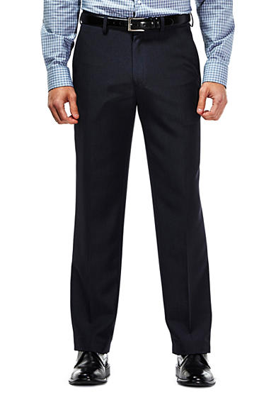 Haggar® Travel Performance Tailored Fit Tic Weave Suit Pants