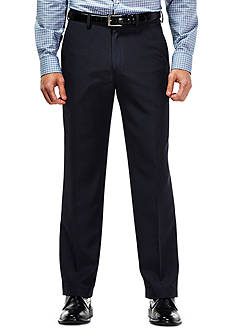 Haggar Travel Performance Tailored Fit Tic Weave Suit Pants