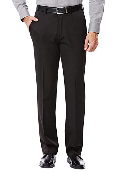 Haggar® Big and Tall Travel Performance Classic Fit Solid Gabardine Suit Pants
