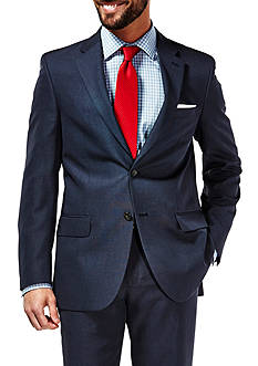 Haggar Travel Performance Tailored Fit Tic Weave Suit Coat