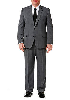 Haggar Big and Tall Travel Performance Classic Fit Stria Gabardine Suit Jacket