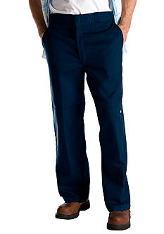 Dickies® Loose Fit Double Knee Twill Work Pant with Cell Phone Pocket